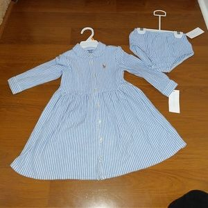 New! Ralph Lauren Girl's Dress